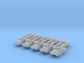 1/600 Rheinmetall-Borsig Waffenträger Tank x10 in Smoothest Fine Detail Plastic