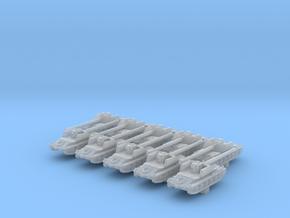 1/700 Rheinmetall-Borsig Waffenträger Tank x10 in Smoothest Fine Detail Plastic