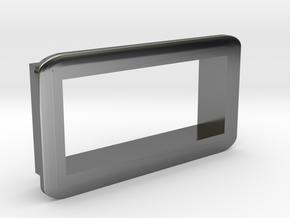 """SwedishVaper VM bezel 0.28"""" in Fine Detail Polished Silver"""