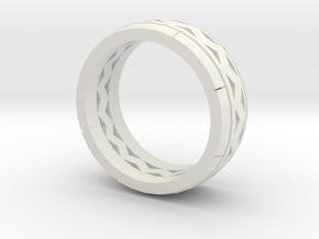 Test Ring in White Strong & Flexible