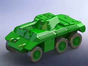 """US T17 """"Deerhound"""" Heavy Scout Car 1/144  in Smooth Fine Detail Plastic"""
