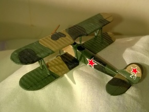 Polikarpov PO-2 1/144 in White Strong & Flexible