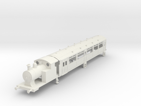 O-76-l-y-steam-railmotor1 in White Natural Versatile Plastic