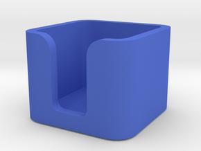 Things Box 5x5 in Blue Processed Versatile Plastic