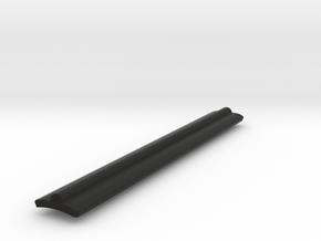 Full Low Profile Graflex Grips in Black Natural Versatile Plastic