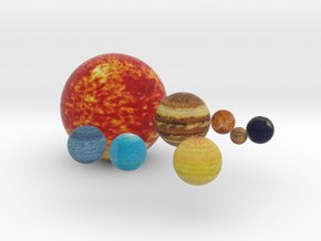 Our Planets in Full Color Sandstone