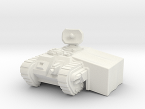6mm Imperial Guard Command Center in White Natural Versatile Plastic