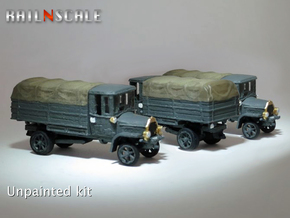 SET 3x Daimler DR4 1/2 (N 1:160) in Smooth Fine Detail Plastic