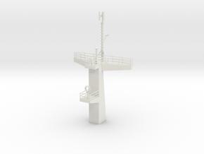 1/96 scale Juniper Main Mast in White Natural Versatile Plastic