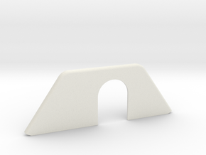 REAR WIPER COVER, HATCH in White Natural Versatile Plastic