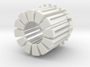 CargoSense Holder, Fillport (1) in White Natural Versatile Plastic