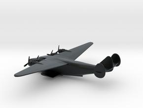 Boeing 314 Clipper in Black Hi-Def Acrylate: 6mm
