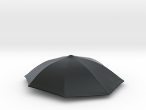 1/18 Umbrella in Black Hi-Def Acrylate