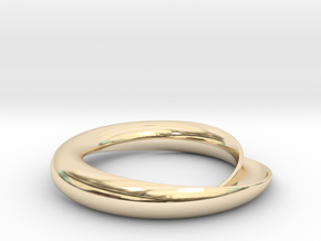 Continuity in 14K Yellow Gold: Extra Small