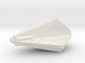 3788 Scale Tholian Destroyer Carrier (DDV) SRZ in White Natural Versatile Plastic