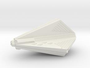 3788 Scale Tholian Destroyer Carrier (DDV) SRZ in White Natural Versatile Plastic