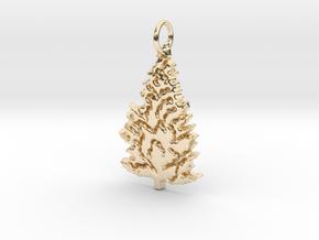 Pine Tree  in 14K Yellow Gold