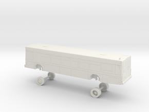 HO Scale Bus Samtrans Gillig Low Floor in White Natural Versatile Plastic