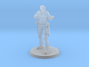 37 mm 'Bones' without Rifle in Smooth Fine Detail Plastic