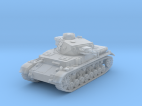 1/120 (TT) German Pz.Kpfw. IV Ausf. F1 Medium Tank in Frosted Ultra Detail