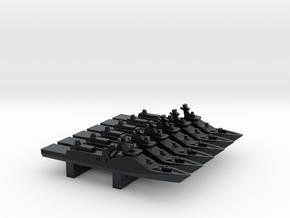 Sigma 10514 Frigate x 6, 1/3000 in Black Hi-Def Acrylate