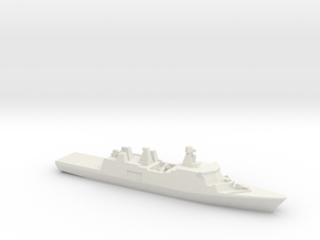 Absalon-class support ship, 1/3000 in White Natural Versatile Plastic