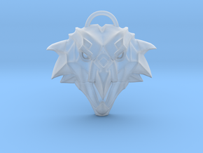 The Witcher: Griffin school medallion (plastic) in Smooth Fine Detail Plastic