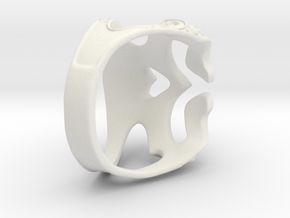 skull ring in White Natural Versatile Plastic: 7 / 54