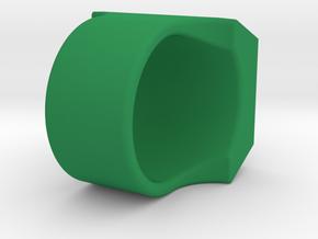 Green Lantern Ring V2 in Green Processed Versatile Plastic