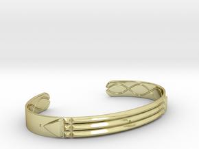 Atlantis Cuff Bracelet in 18k Gold: Small