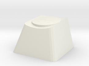 Overwatch McCree Deadeye Cherry MX Keycap in White Natural Versatile Plastic