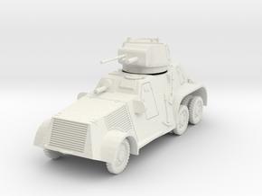 PV183A Pantserwagen M-38 (28mm) in White Natural Versatile Plastic