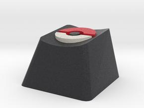 Pokeball Cherry MX Keycap in Full Color Sandstone