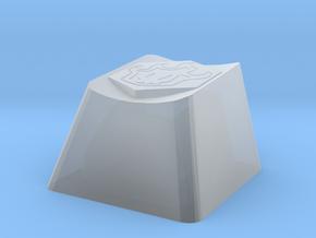 Bleach Cherry MX Keycap in Smooth Fine Detail Plastic