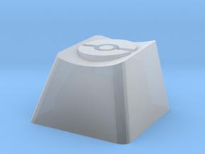 Pokeball Cherry MX Keycap in Smooth Fine Detail Plastic