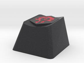 World of Warcraft Horde Cherry MX Keycap in Full Color Sandstone