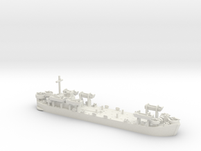 1/600 LST MkII Late 6x LCVP in White Natural Versatile Plastic