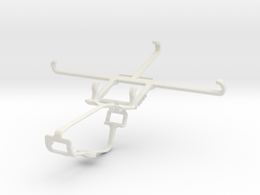 Controller mount for Xbox One & Oppo F3 in White Natural Versatile Plastic