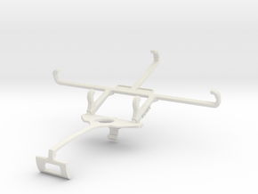 Controller mount for Xbox One S & BLU Studio M HD  in White Natural Versatile Plastic