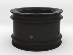 RIM002-16 2.2in Star Wheel, Rear, -16MM Offset in Black Natural Versatile Plastic