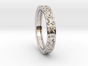 Princess Diana-Royal Ring  in Platinum