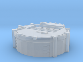 6mm Mars Pattern Tank Factory in Smooth Fine Detail Plastic