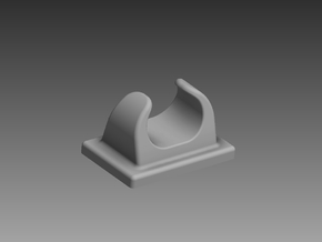 Small fairlead 1/96 in Smooth Fine Detail Plastic
