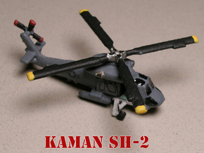 Kaman SH-2 Seasprite (with landing gear) 1/285 6mm in White Natural Versatile Plastic