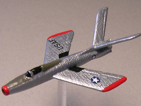 Republic XF-91 Thunderceptor (In flight) 6mm 1/285 in White Natural Versatile Plastic