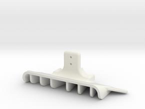 DIFFUSEUR-McL12C-GLA in White Natural Versatile Plastic