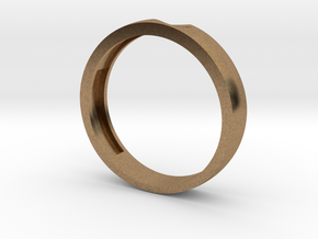 Wedding Couple Rings For Women & Men in Natural Brass: 1.5 / 40.5
