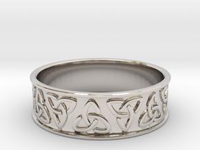 Celtic Ring in Platinum