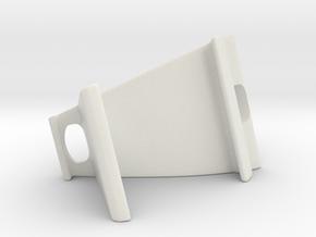 Phone Holder in White Natural Versatile Plastic