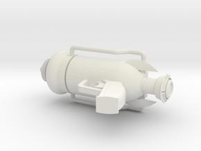 C.A.P.P.E.R. in White Natural Versatile Plastic